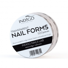 Transparent Nail Form 500