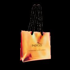 Holographic shopping bag - orange