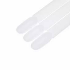 Pop Sticks Nail Display Ring Fan – milky white (50pcs)