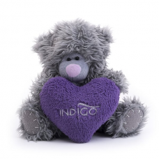 Indigo Teddy Bear