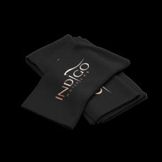 Indigo Towel Black