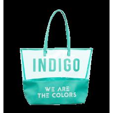 Indigo We Are The Colors Summer Bag - Eucalyptus
