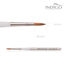 Indigo Brush Oval Excellent n.6