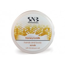 Scrub Hands And Body With Honey Milk And Himalayan Salt 300 ml