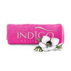 Indigo Towel Amarant silver logo 50x30cm