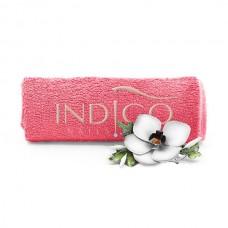 Indigo Towel Grapefruit beige logo 50x30cm