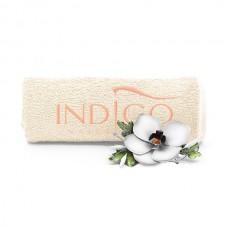 Indigo Towel Ecru peach logo 50x30cm