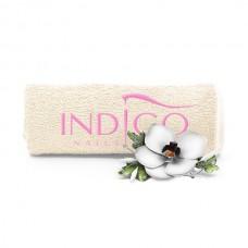Indigo Towel Ecru pink logo 50x30cm