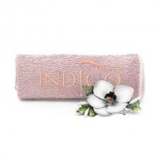 Indigo Towel Beige peach logo 50x30cm